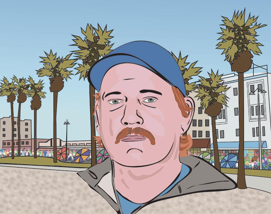 Venice Beach Portrait